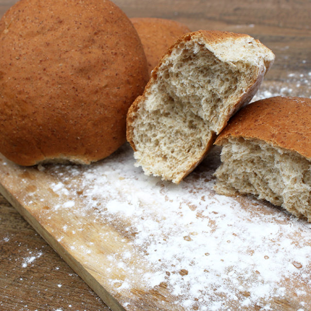 Soft Wholemeal Rolls 4