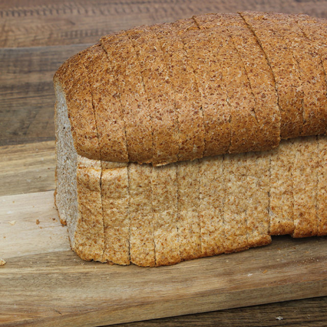 Wholemeal Farmhouse Sliced Loaf 600G