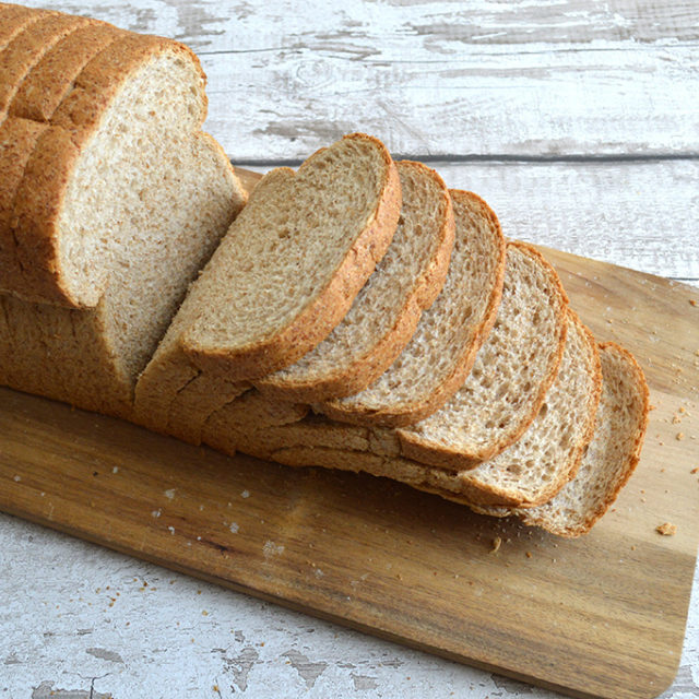 Wholemeal Loaf Sliced 600G